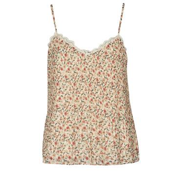 Textiel Dames Tops / Blousjes Moony Mood PABERES Beige