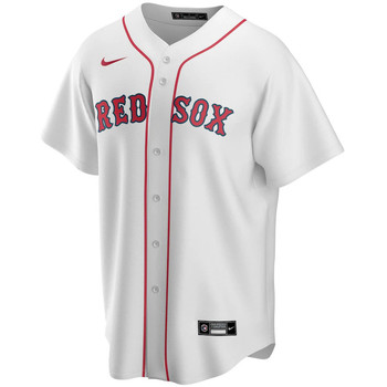 Textiel Heren T-shirts korte mouwen Nike Maillot Official Replica Boston Red Sox blanc/rouge