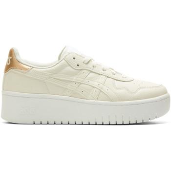 Schoenen Dames Lage sneakers Asics Baskets femme  Japan S Pf beige/beige