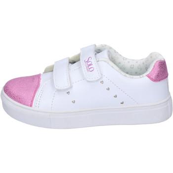 Schoenen Meisjes Lage sneakers Solo Soprani BH180 Wit