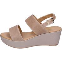 Schoenen Dames Sandalen / Open schoenen David Haron Sandales BH185 Beige