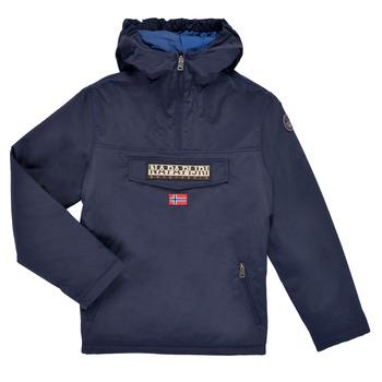 Textiel Kinderen Parka jassen Napapijri RAINFOREST POCKET Marine