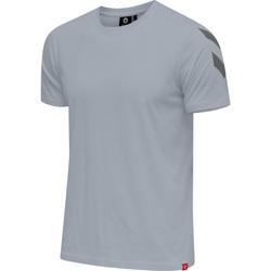 Textiel Heren T-shirts korte mouwen Hummel T-shirt  hmlLEGACY chevron gris