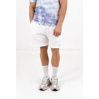 Textiel Heren Korte broeken / Bermuda's Sixth June Short  signature velvet logo blanc