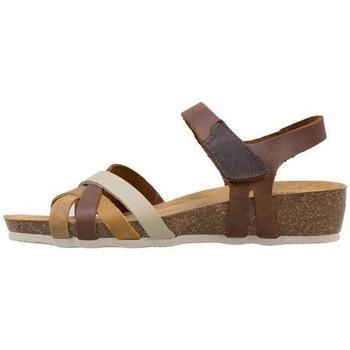 Schoenen Dames Sandalen / Open schoenen Senses & Shoes  Geel