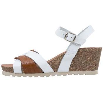 Schoenen Dames Sandalen / Open schoenen Senses & Shoes  Wit