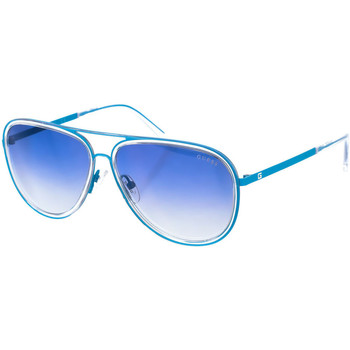 Horloges & Sieraden Heren Zonnebrillen Guess Sunglasses Lunettes de soleil Guess Blauw
