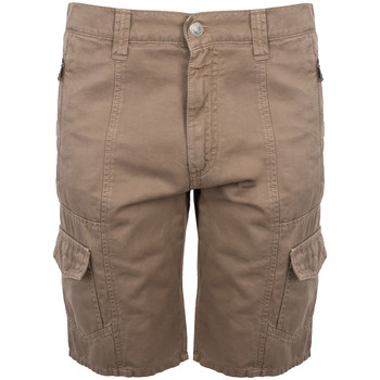 Textiel Heren Korte broeken / Bermuda's Bikkembergs  Brown