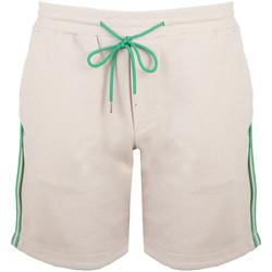 Textiel Heren Korte broeken / Bermuda's Bikkembergs  Beige