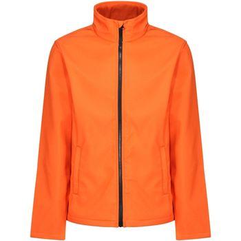 Textiel Heren Windjacken Regatta RG627 Magma Oranje/Zwart