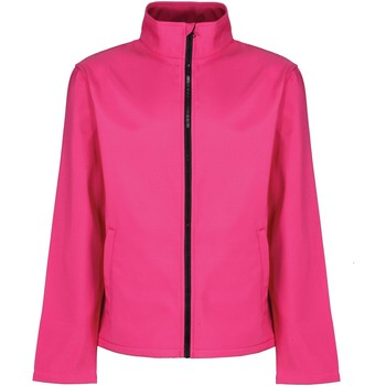 Textiel Heren Windjacken Regatta RG627 Heet Roze/Zwart
