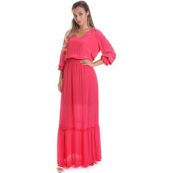 Textiel Dames Lange jurken Gaudi 011FD15029 Roze