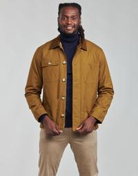 Textiel Heren Wind jackets Selected SLHSUST Brown