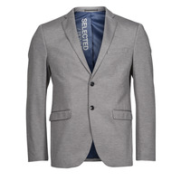 Textiel Heren Jasjes / Blazers Selected SLHSLIM JIM Grijs
