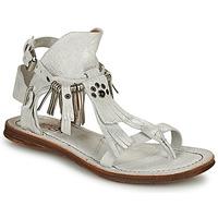 Schoenen Dames Sandalen / Open schoenen Airstep / A.S.98 RAMOS Wit / Irisé