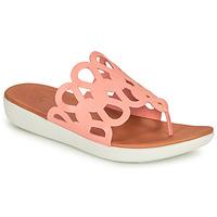 Schoenen Dames Slippers FitFlop ELODIE Roze