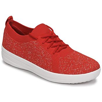 Schoenen Dames Lage sneakers FitFlop F-SPORTY Rood