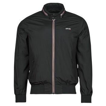 Textiel Heren Wind jackets Schott CABLS21R Zwart