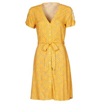 Textiel Dames Korte jurken Only ONLVIOLETTE Orange