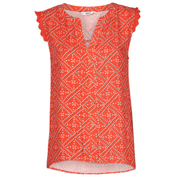 Textiel Dames Tops / Blousjes Only ONLVIOLETTE Orange