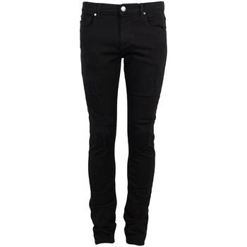 Textiel Heren 5 zakken broeken Bikkembergs  Zwart