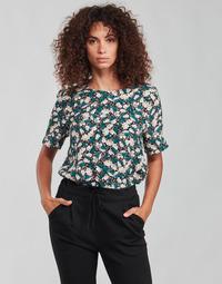Textiel Dames Tops / Blousjes Vero Moda VMRILLO Groen