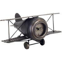 Wonen Klokken Signes Grimalt Tafelblad Clock Plane Negro