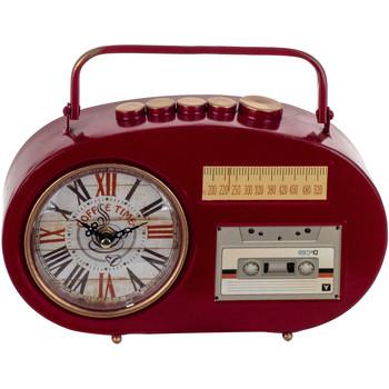 Wonen Klokken Signes Grimalt Tafelblad Clock Transistor Rojo