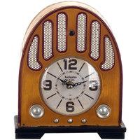 Wonen Klokken Signes Grimalt Tafelblad Clock Radio Beige