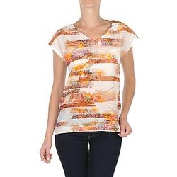 Textiel Dames T-shirts korte mouwen TBS JINTEE Wit