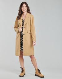 Textiel Dames Mantel jassen Only ONLLOUIE  camel