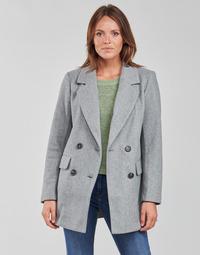 Textiel Dames Mantel jassen Only ONLVICTORIA Grijs