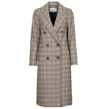 Textiel Dames Mantel jassen Only ONLZOEZUE Brown