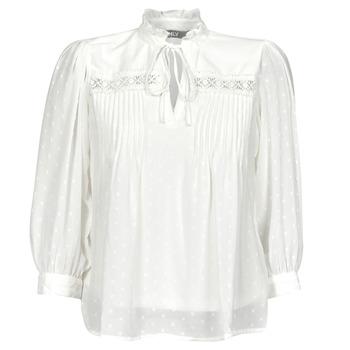 Textiel Dames Tops / Blousjes Only ONLMADONNA Wit
