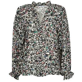 Textiel Dames Tops / Blousjes Only ONLMELINA Zwart / Multicolour