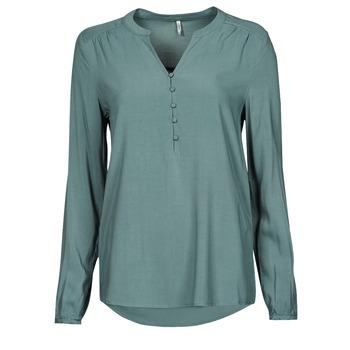 Textiel Dames Tops / Blousjes Only ONLNEW EDDIE Groen