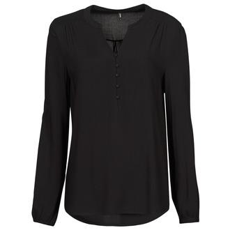 Textiel Dames Tops / Blousjes Only ONLNEW EDDIE Zwart