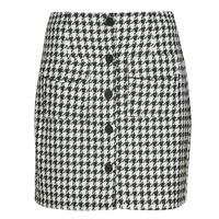 Textiel Dames Rokken Moony Mood PABLEIGES Zwart / Wit