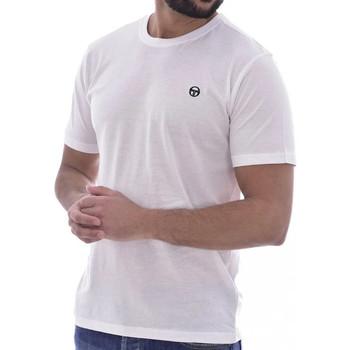 Textiel Heren T-shirts korte mouwen Sergio Tacchini  Wit