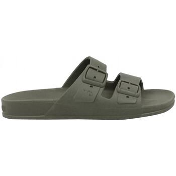 Schoenen Heren Leren slippers Cacatoès Rio de janeiro Groen