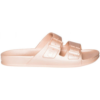 Schoenen Dames Leren slippers Cacatoès Baleia Roze