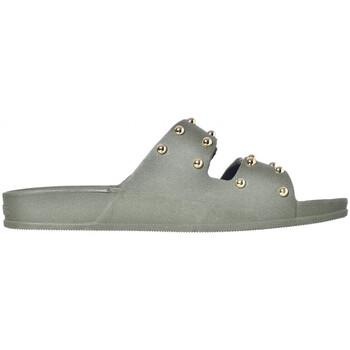 Schoenen Dames Leren slippers Cacatoès Florianopolis Groen