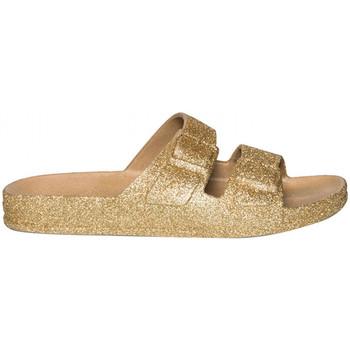 Schoenen Dames Leren slippers Cacatoès Trancoso Goud