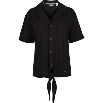 Textiel Dames Overhemden O'neill Cali Woven Zwart