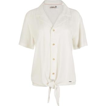 Textiel Dames Overhemden O'neill Cali Woven Wit