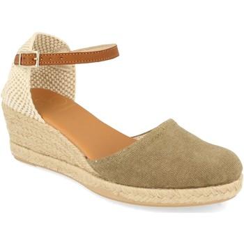 Schoenen Dames Espadrilles Shoes&blues SB-22002 Kaki
