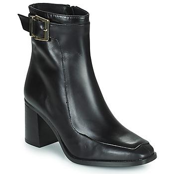 Schoenen Dames Enkellaarzen Fericelli PALAIS Zwart