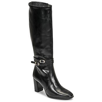 Schoenen Dames Hoge laarzen Fericelli PLIET Zwart