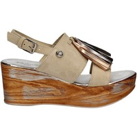 Schoenen Dames Sandalen / Open schoenen Byblos Blu 672213 Beige