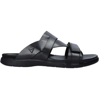 Schoenen Heren Leren slippers Valleverde 36900 Zwart